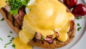 Hollandaise is probably best known for its use in eggs Benedict.