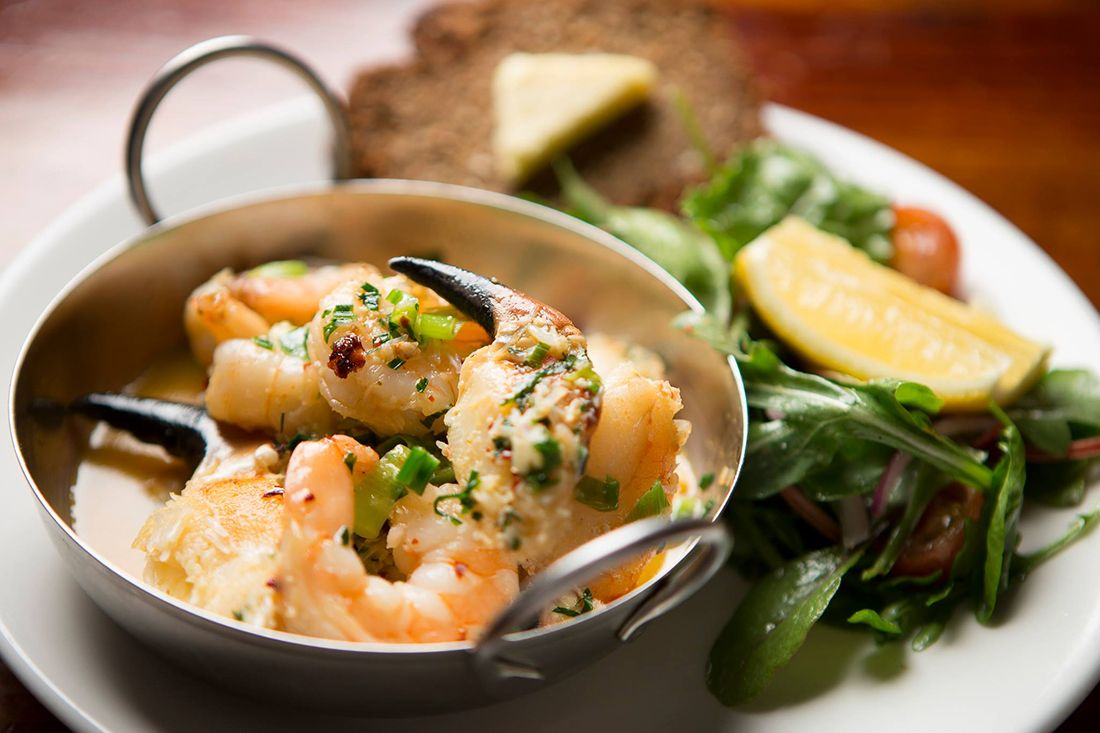 Crab claws and prawns anglers rest edit