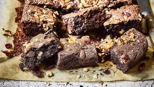 Thumb the little miil   chocolate brownie   walnuts and cranberry1