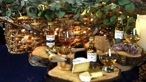 One of Powerscourt Distillery\'s food and whiskey pairing hampers