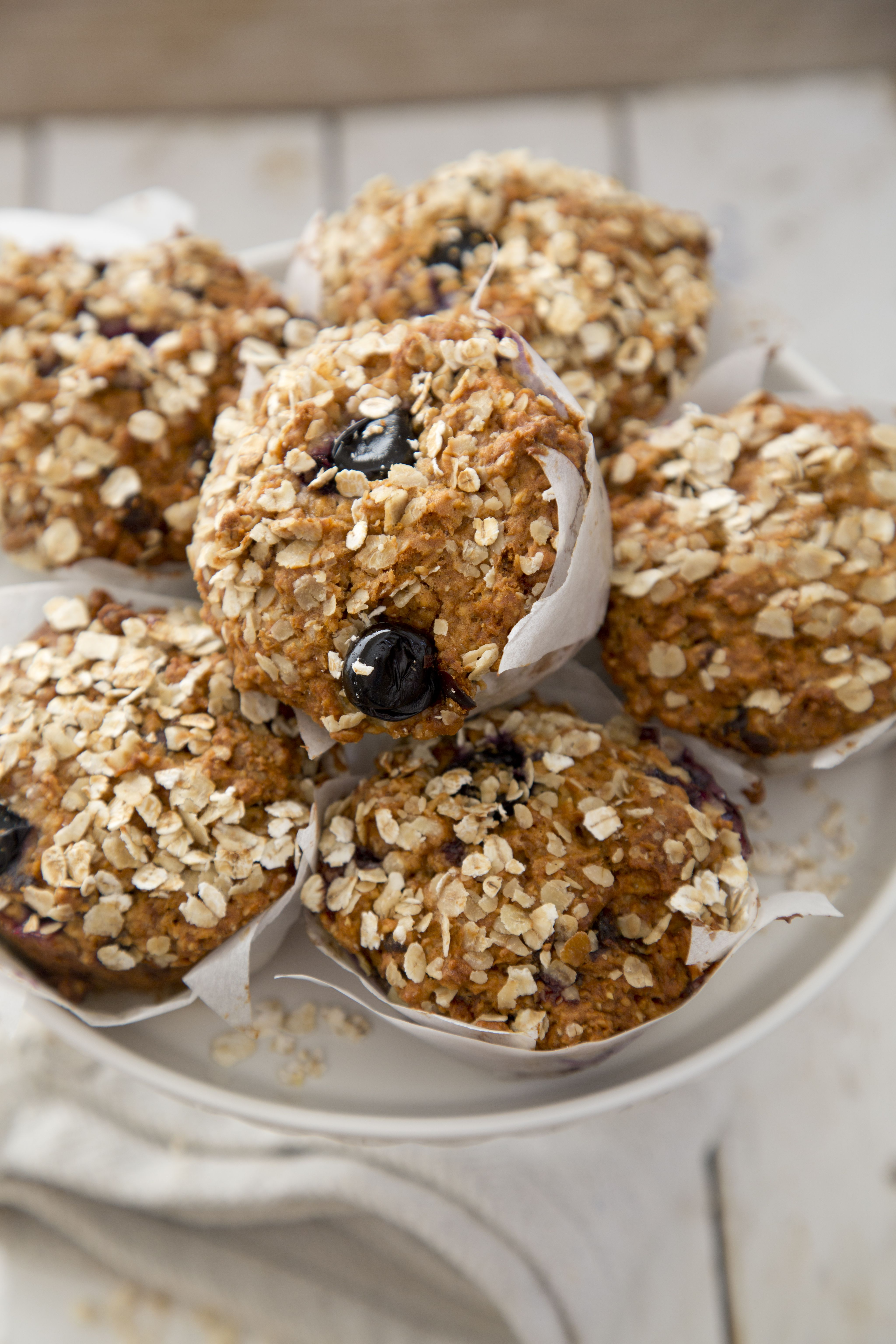 2. blueberry oat muffins photo 2