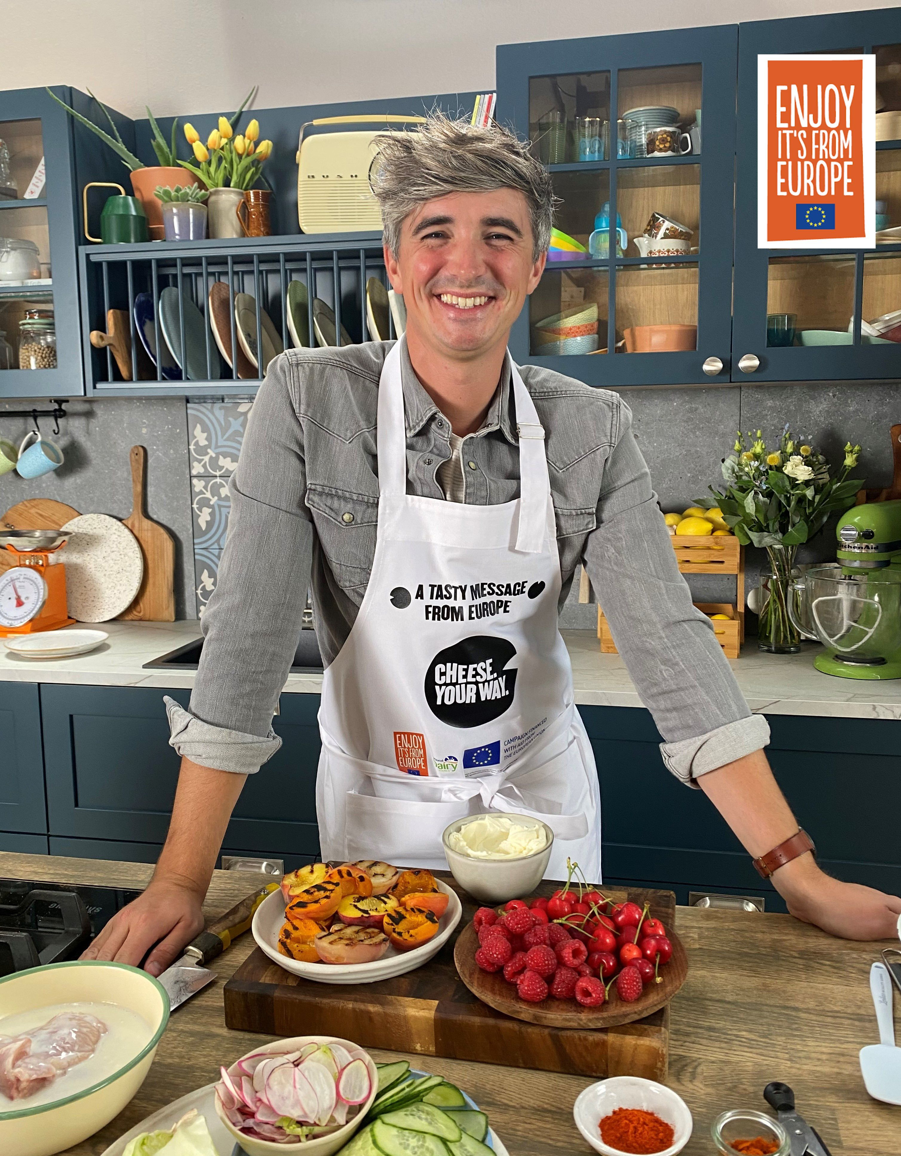 Donal skehan cheese your way with logo