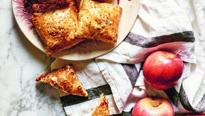 Thumb p108 apple  brie and onion caramelized turnovers