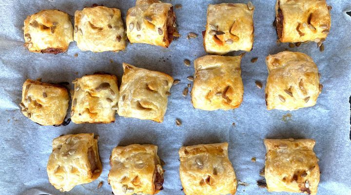 Featured chorizo sausage rolls recipe