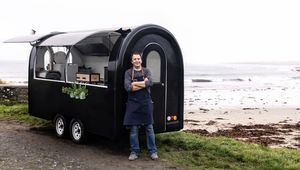 Thumb credit  kirsty lyons   chef  caomha n de bri  and his nomadic food trailer  the salt project  will be popping up in scenic locations across the country