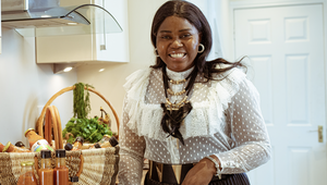 Ellie Kisyombe, founder of Ellie\'s Kitchen Home Edition