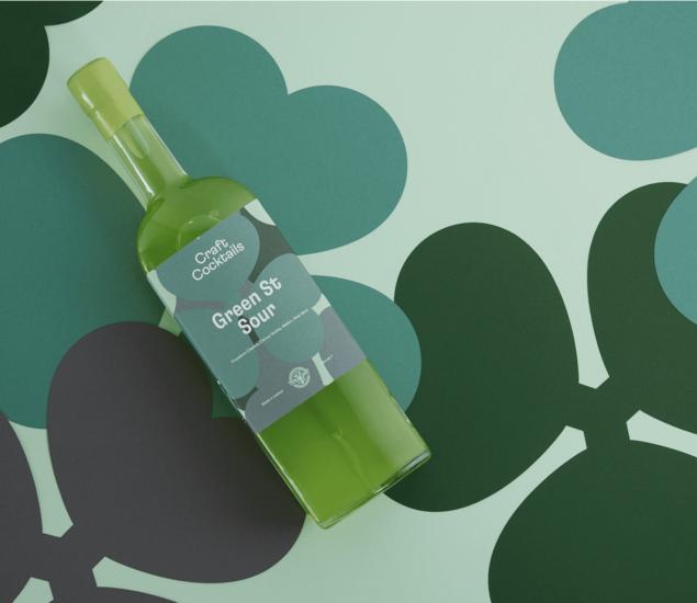 Featured craft cocktails