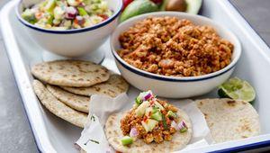 Thumb turkey mince taco recipe