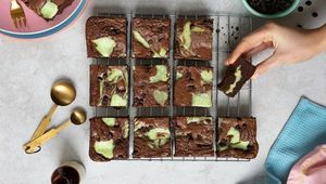Thumb mint chocolate cheesecake brownies