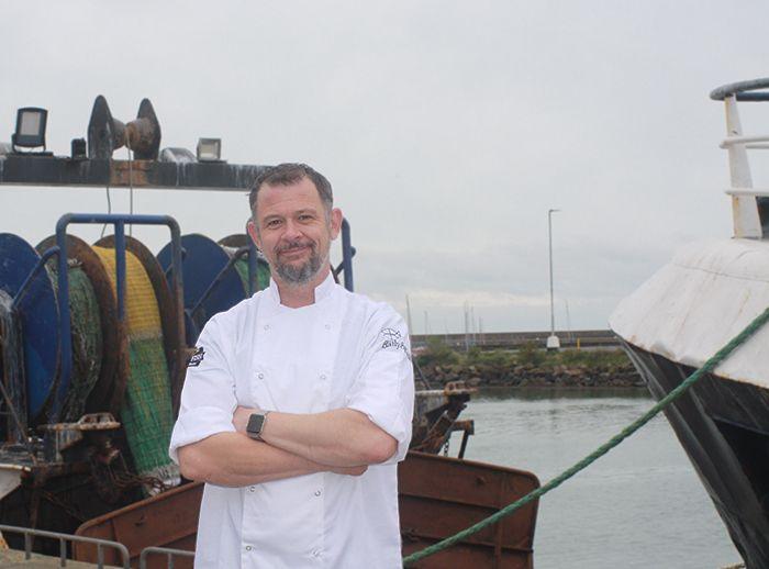 Head chef Richie Duff.