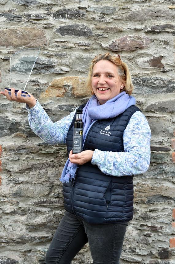 Susie Hamilton-Stubber from Burren Balsamics