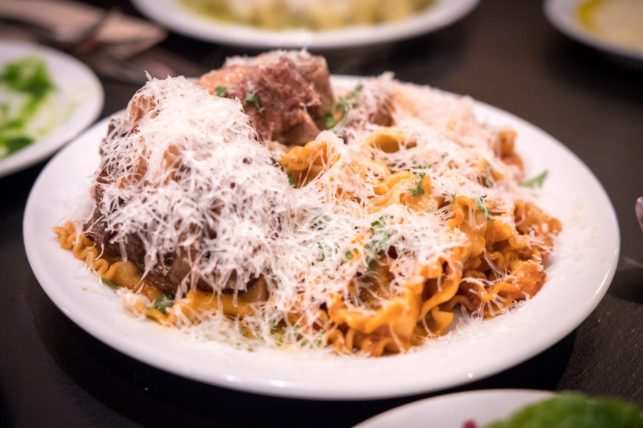 Pasta from Sprezzatura.