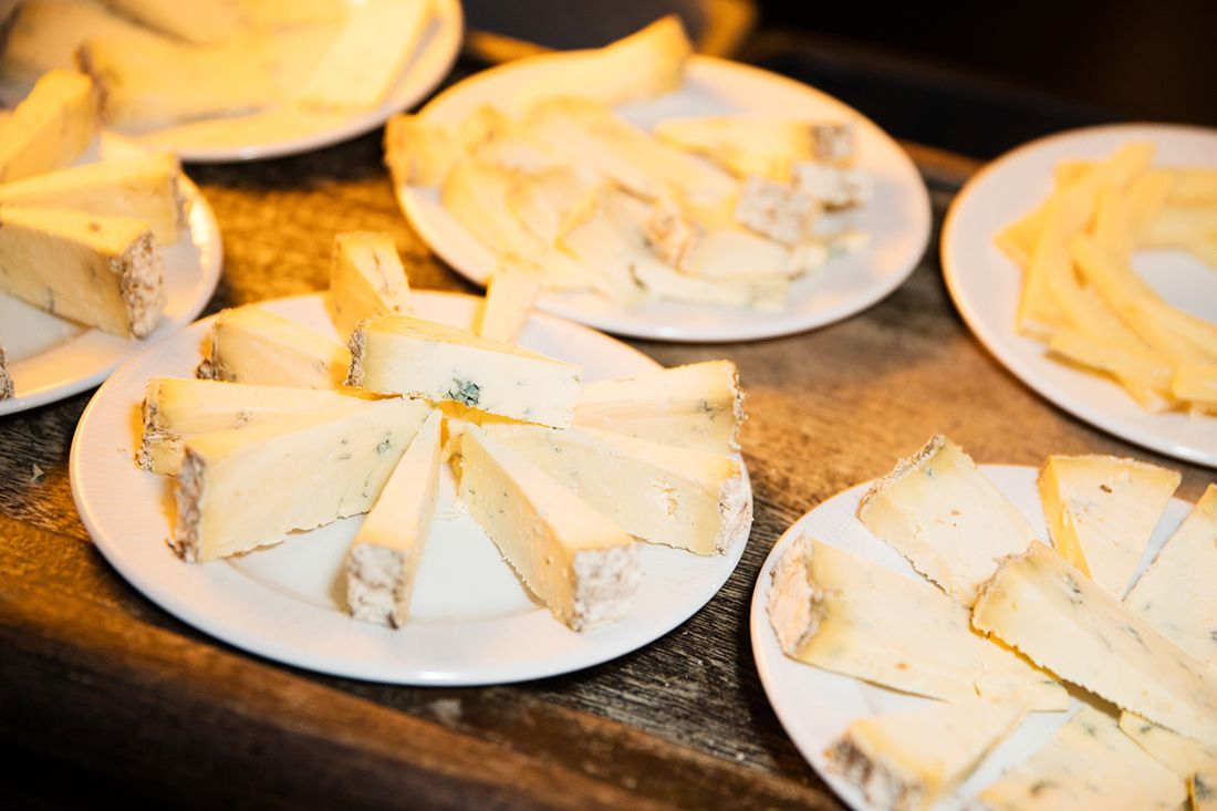 A selection of cheese from Sheridans Cheesemongers. Photo by Ailbhe O'Donnell.