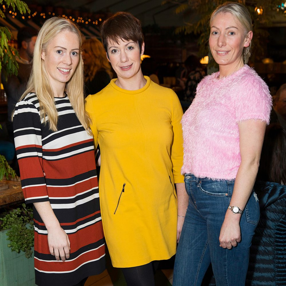 Aoife Walsh, Saoirse Fox and Mairead Walsh. Photo by Ailbhe O'Donnell.