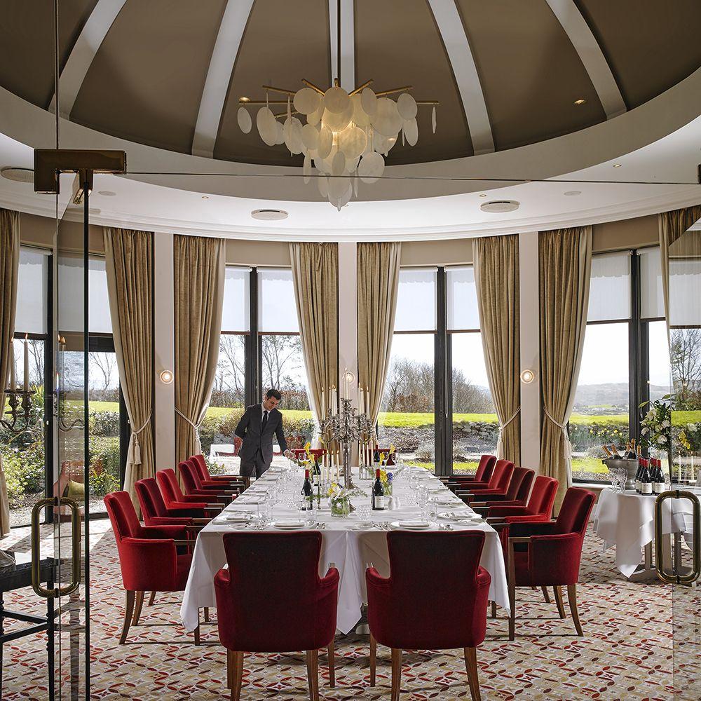 La Fougère at Knockranny House Hotel.