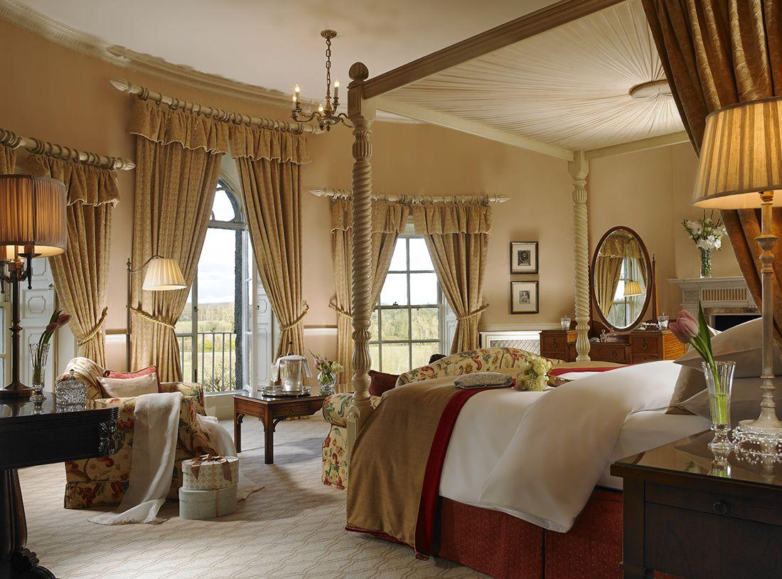 The bridal suite at Mount Juliet Estate.