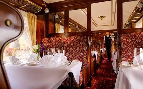 Pullman Restaurant at Glenlo Abbey