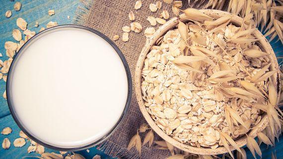 Oat milk. Getty Images.