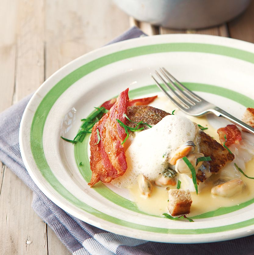 Kevin Dundon's pan-fried cod