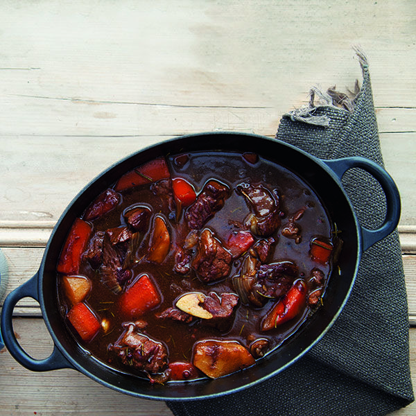 Irish beef and stout stew. Photo: Harry Weir