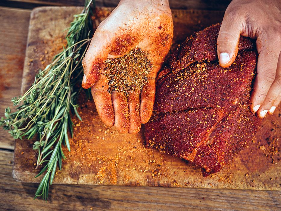 Coffee works really well in spice rubs for meat. Getty Images.