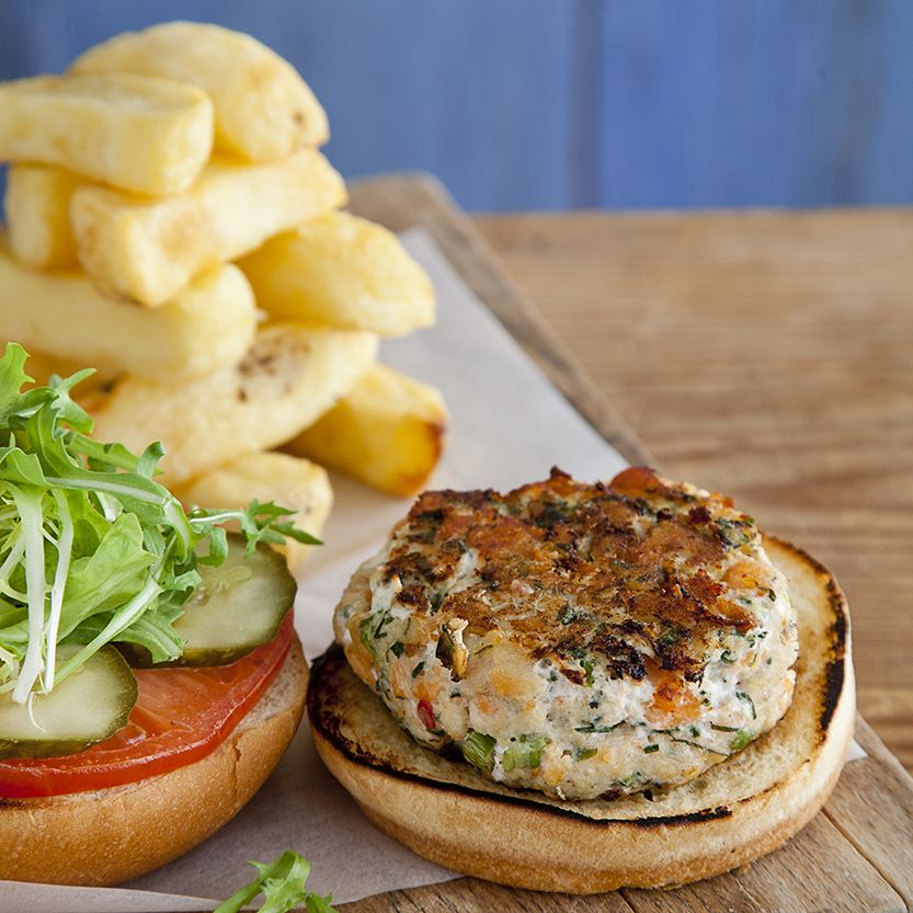 The Oarhouse's fish burgers.