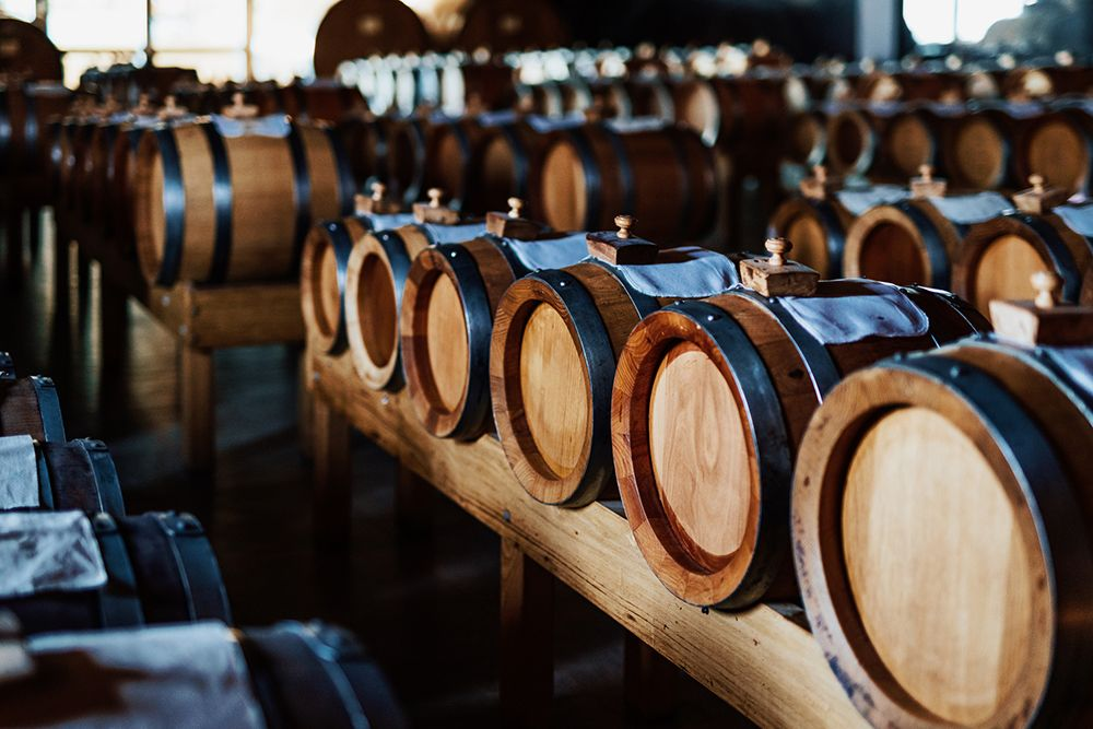 Traditional balsamic ageing barrels in Modena, Italy. Getty Images.