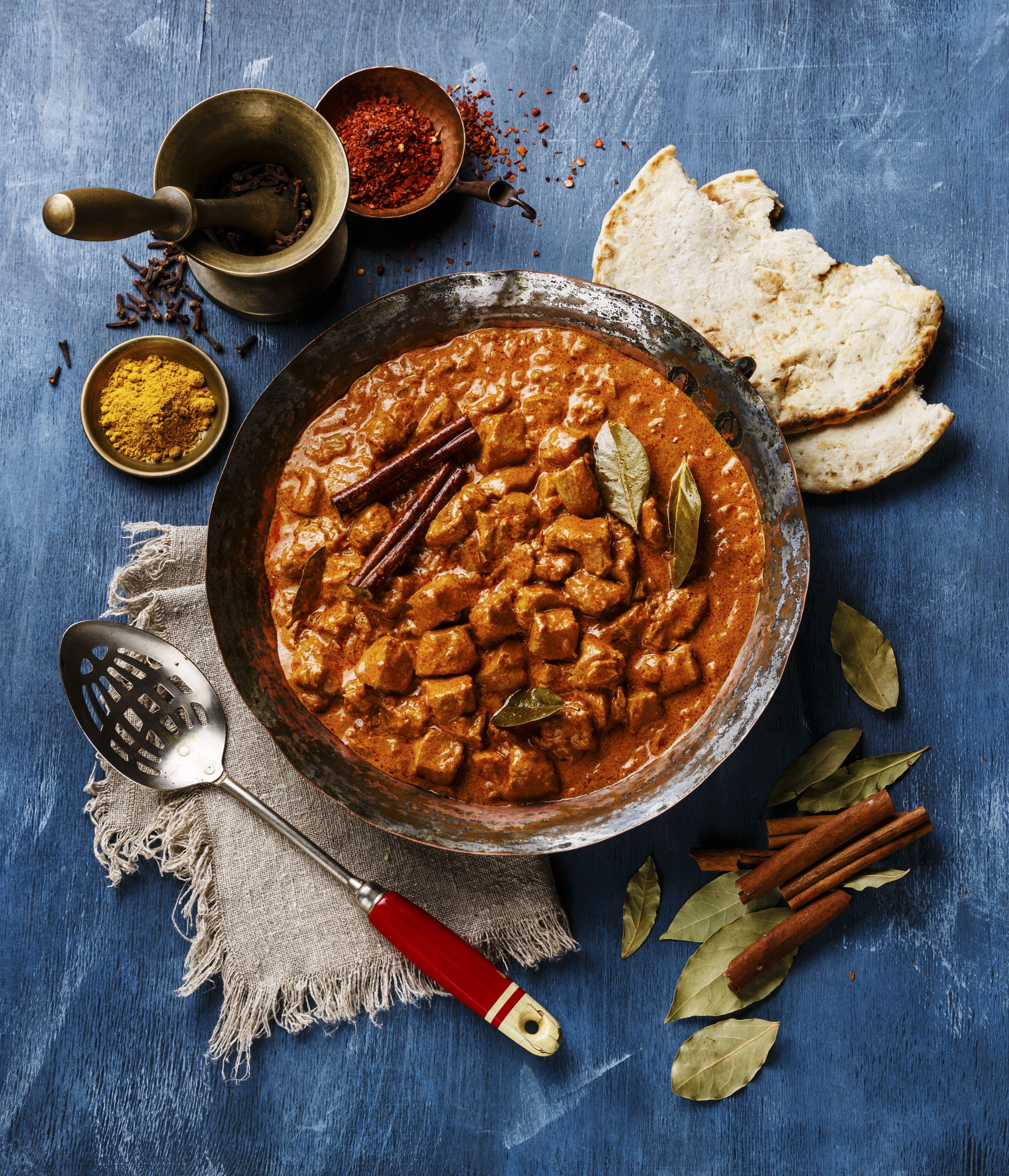 Chicken tikka masala/Getty