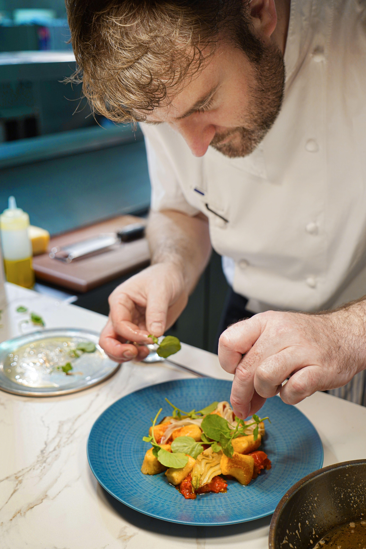 Chef Alan Barrins