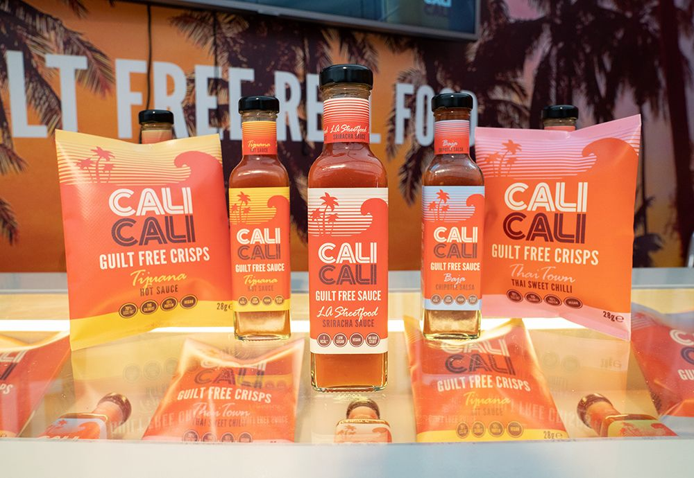 A selection of Cali Cali products.