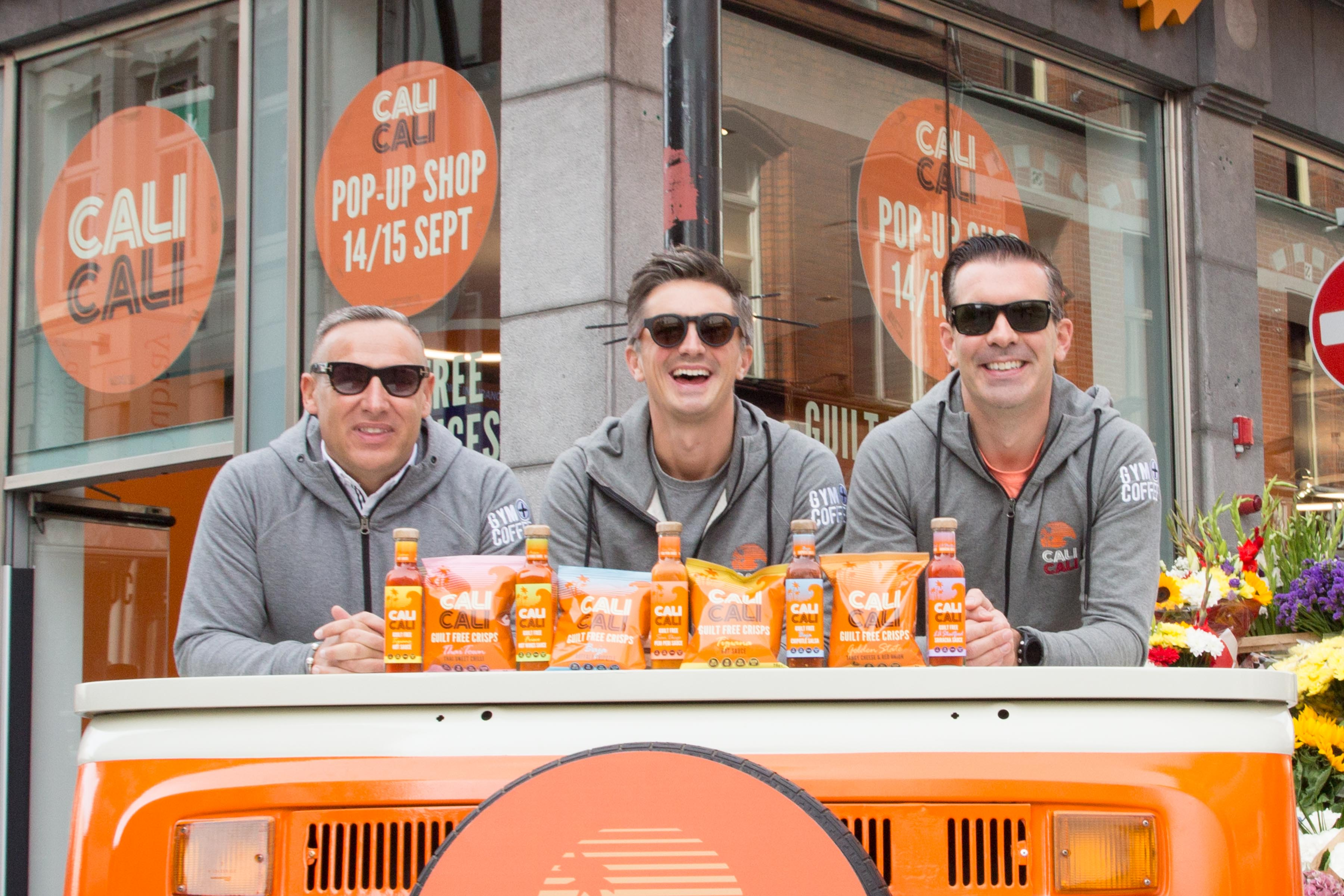 Founders Niall McGrath, Tom Gannon and Donal Skehan.