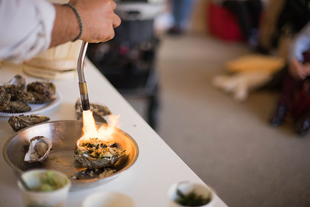 An oyster masterclass at Slow in the City, Dublin 8.