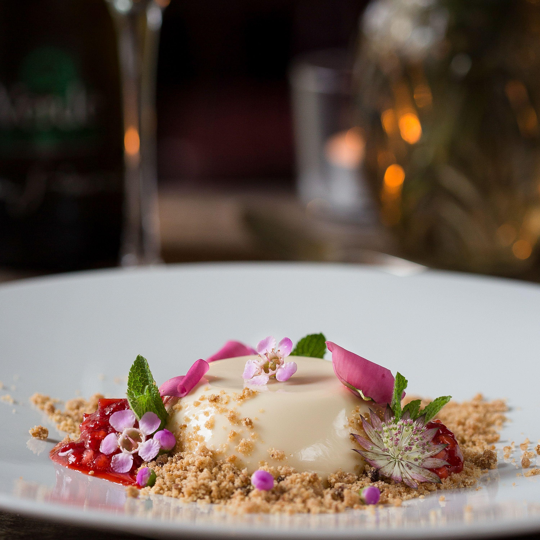 Dessert Pannacotta/Image: Anita Murphy