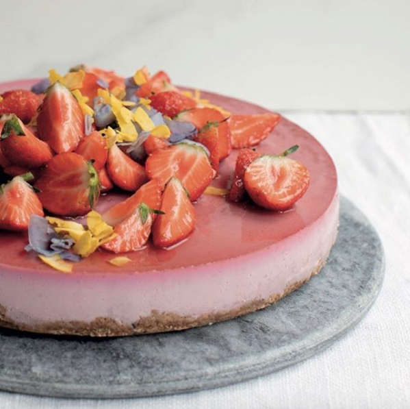 Berry silken torte from Cornucopia. Photo by @leo.e.byrne from @cornucopia_restaurant on Instagram