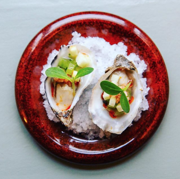 Brandy Bay oysters from @volpeneradublin on Instagram.