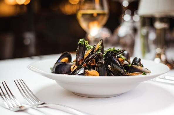 Mussels from Peploe's. Image by @foodphotographerireland on Instagram.