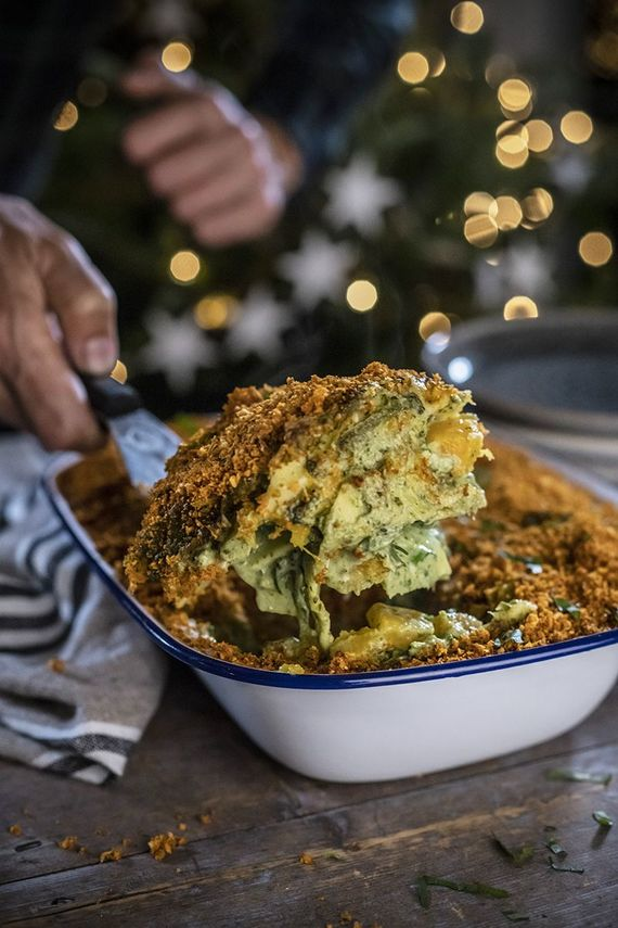 Broccoli lasagne from Avoca