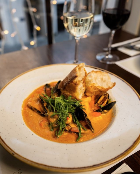 Seafood bouillabaisse. Photo from @marketlanecork on Instagram.