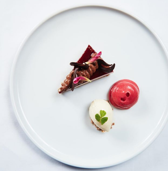 Triple chocolate mousse. Image from @greenescork on Instagram.