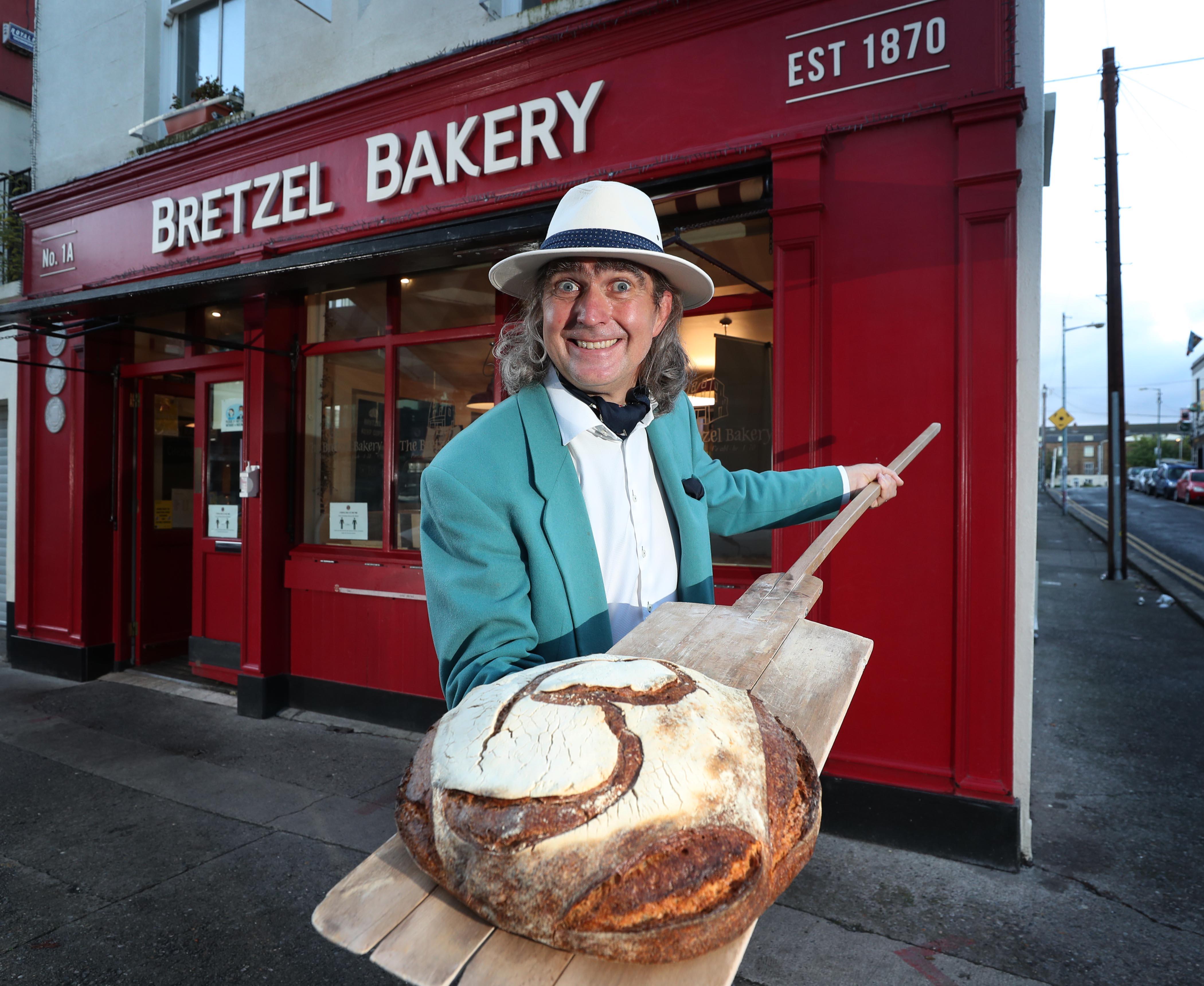 William Despard of Bretzel Bakery
