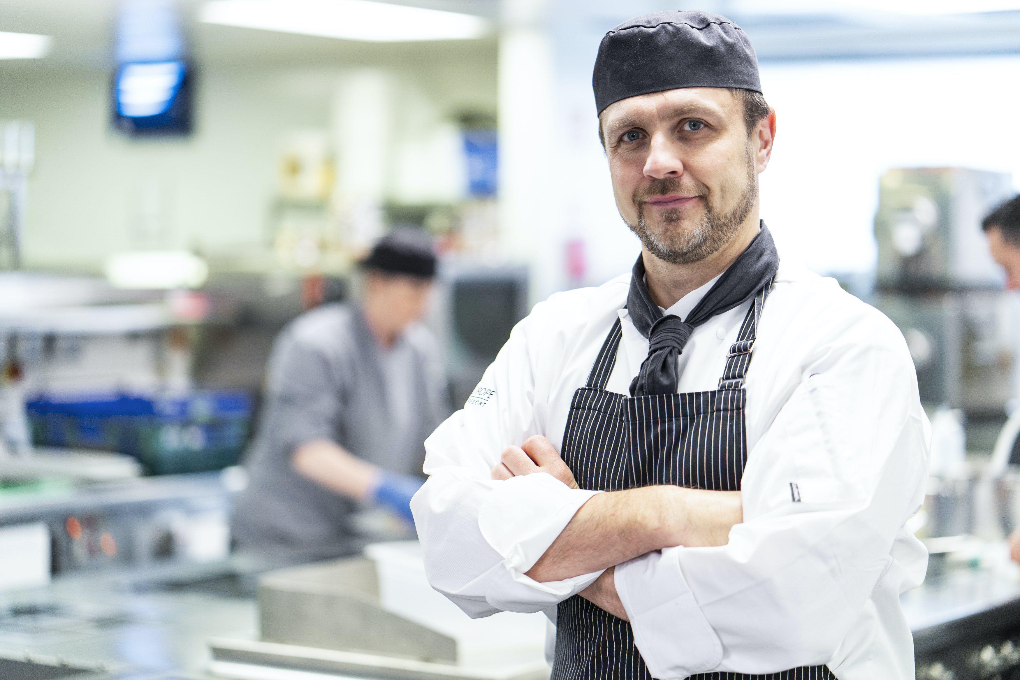 Head chef Alex Nahke