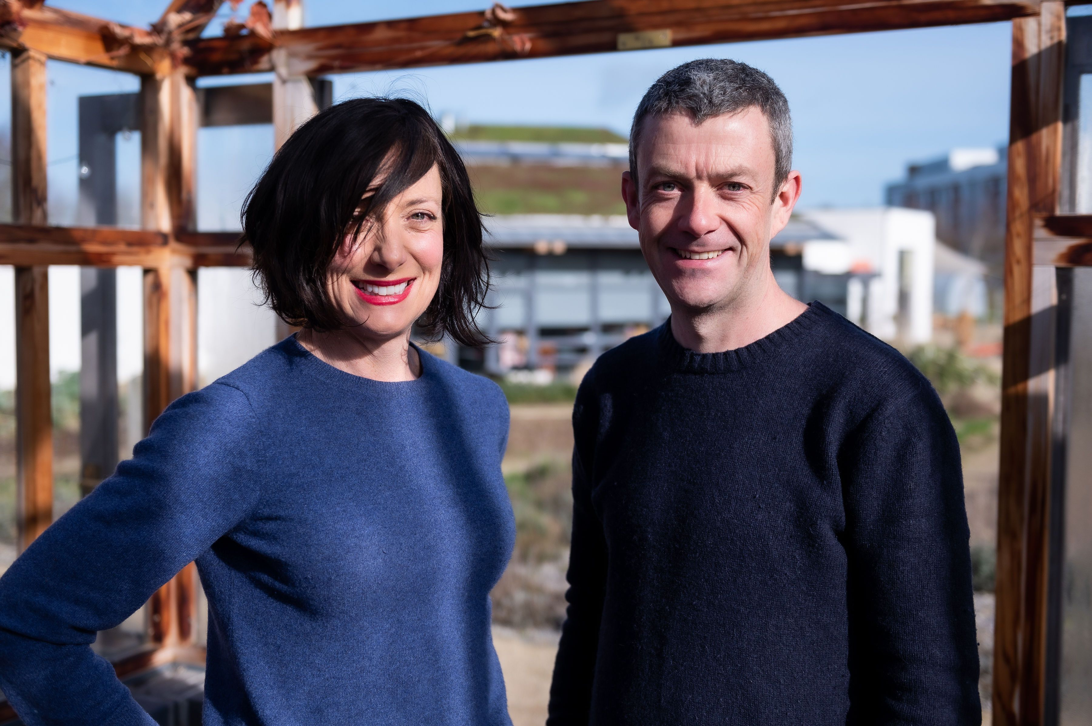 Karen O'Donohoe and Michael Kelly of GROW COOK EAT.