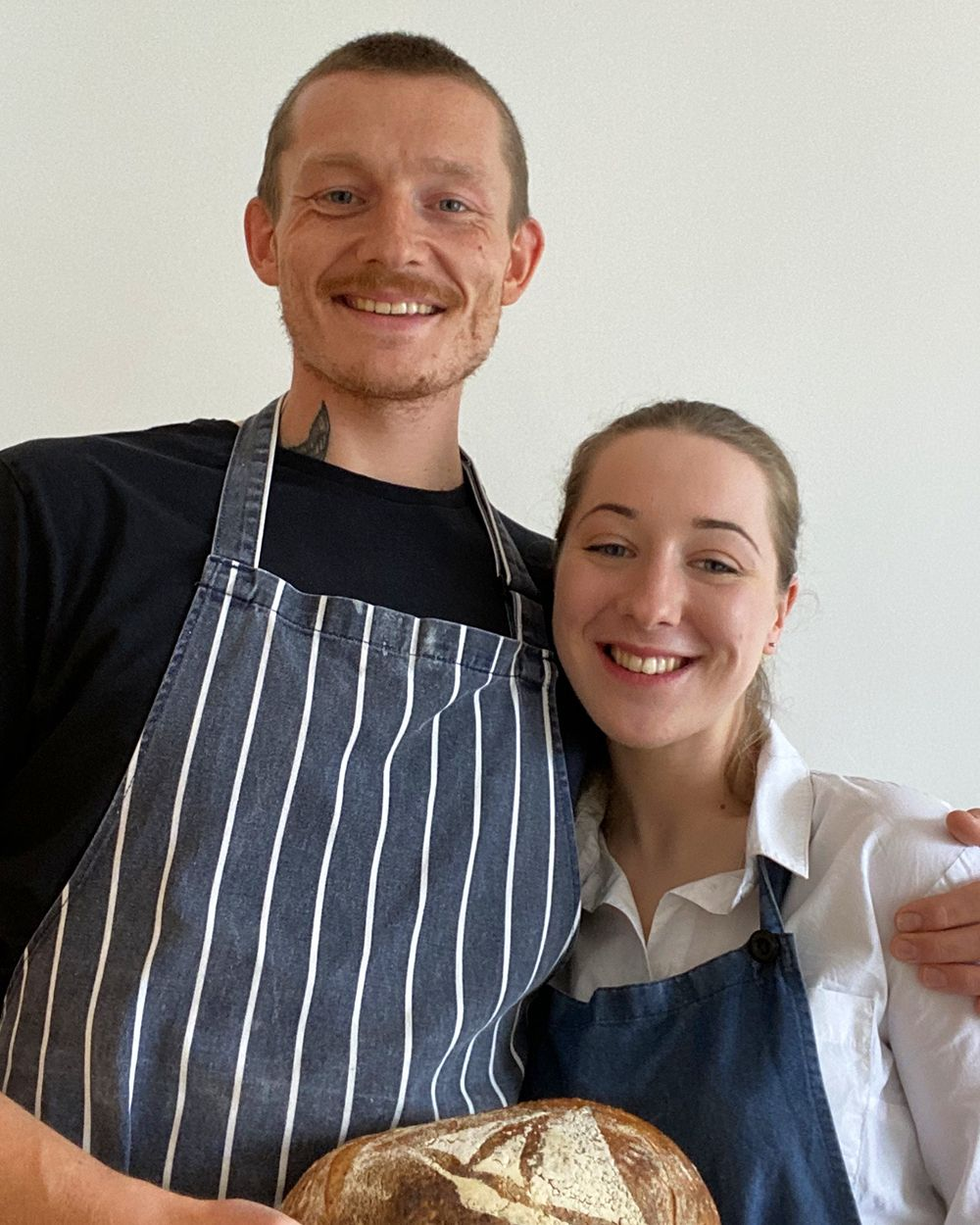 Andrew Ishmael and Beth Hannan, owners of The Imperfect Bakery.