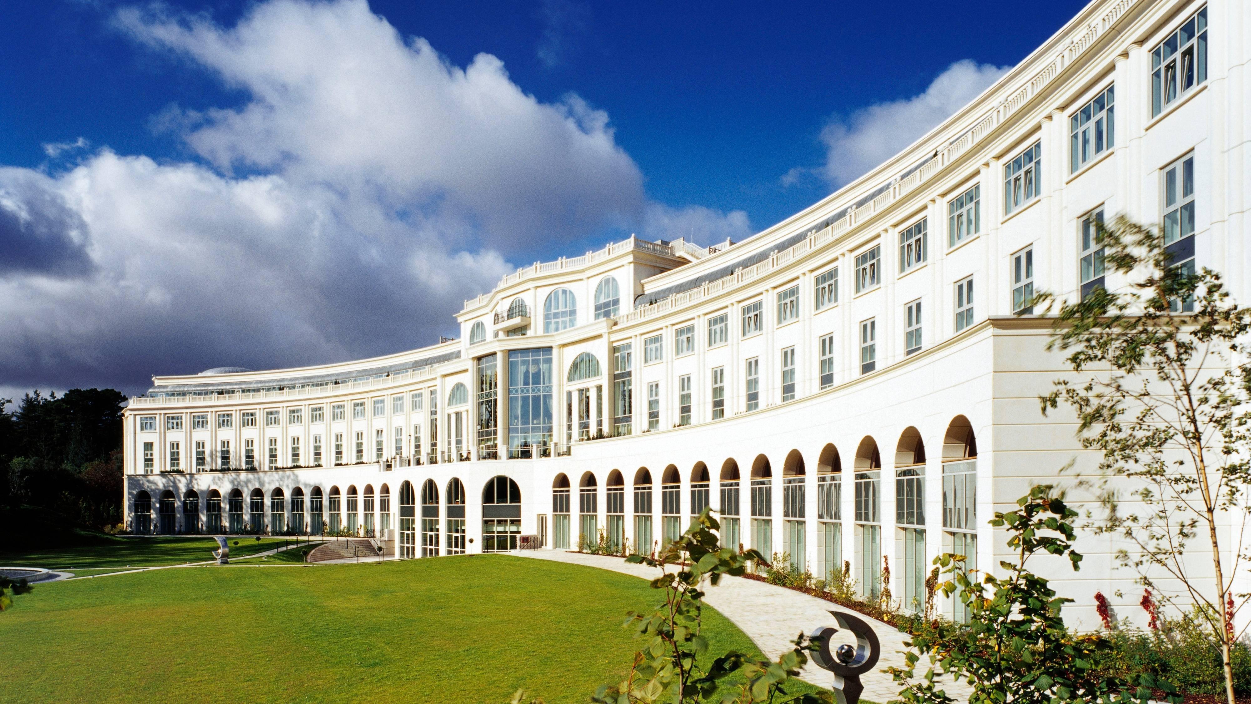 Powerscourt Hotel Resort and Spa exterior.