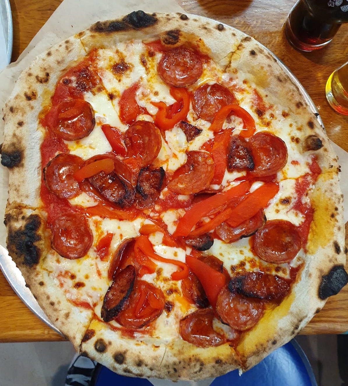 Rascals' Meat Me In Inchicore pizza.