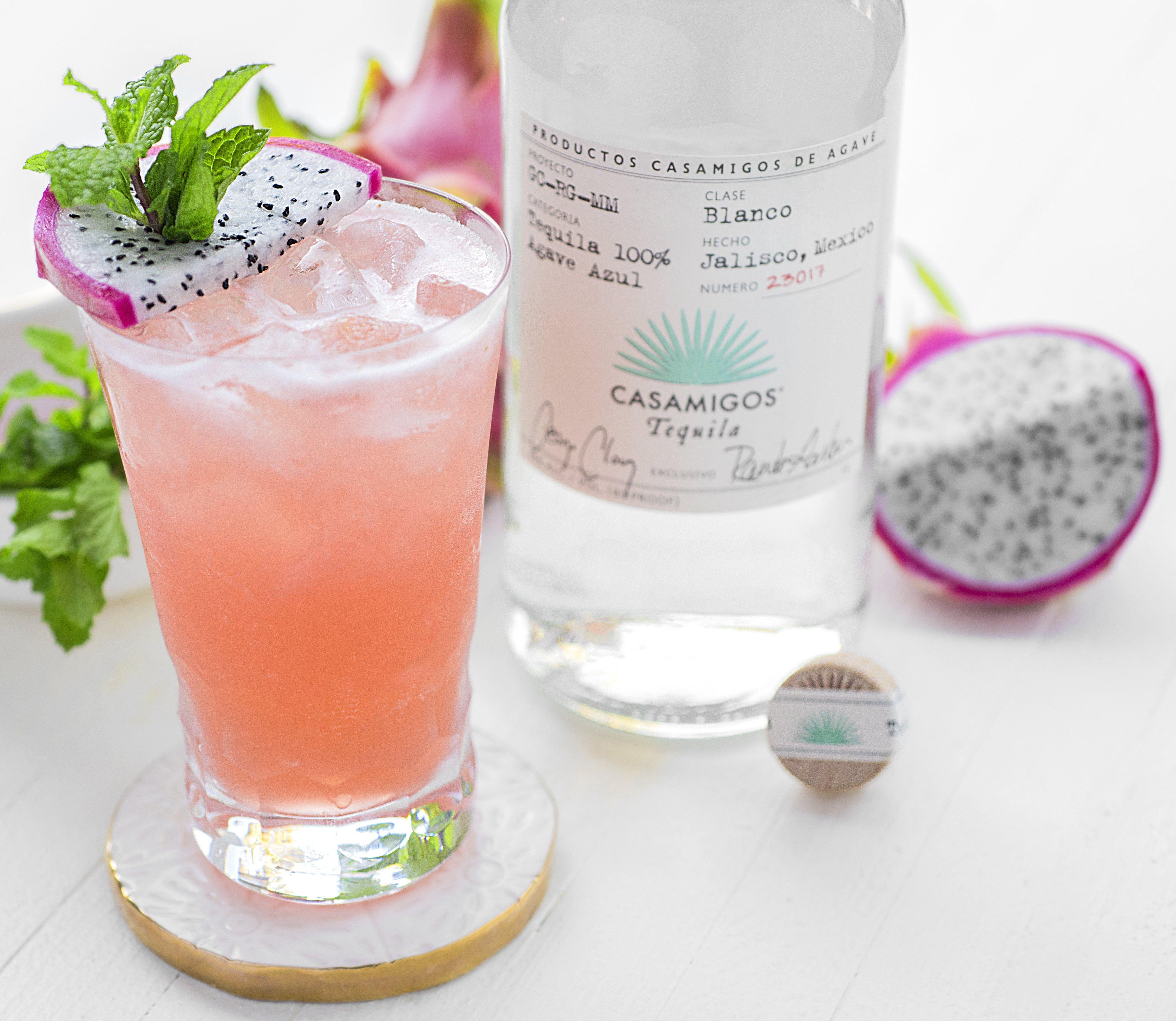 The Casamigos Pink Dragon Lemonade