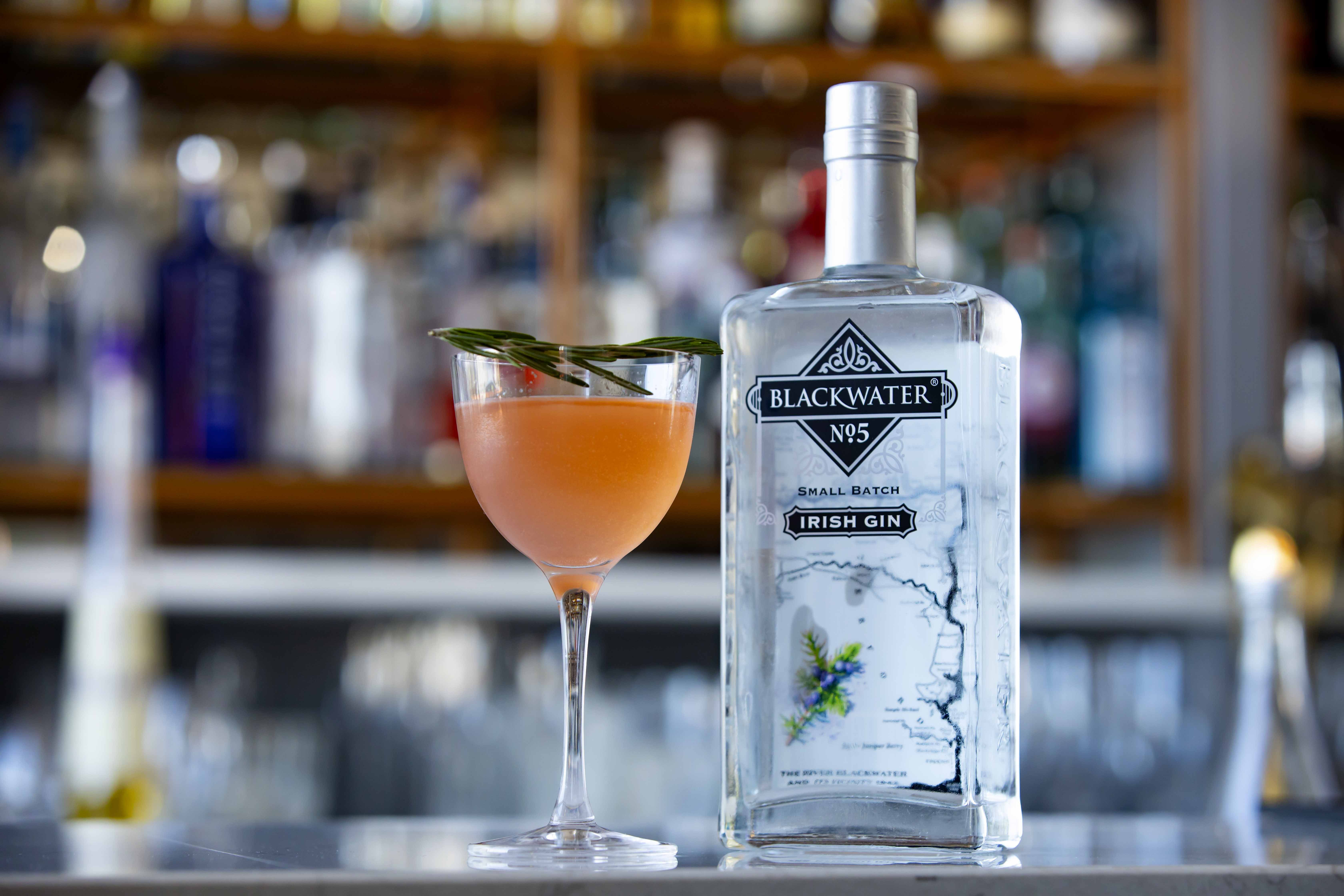 The bespoke cocktail featured in the Taste of the Festival meal experience