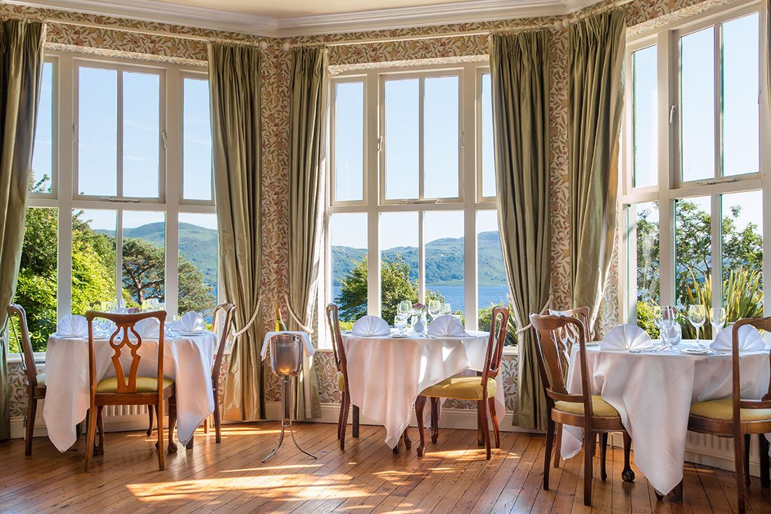 Lakeside Restaurant at Carrig Country House & Restaurant.