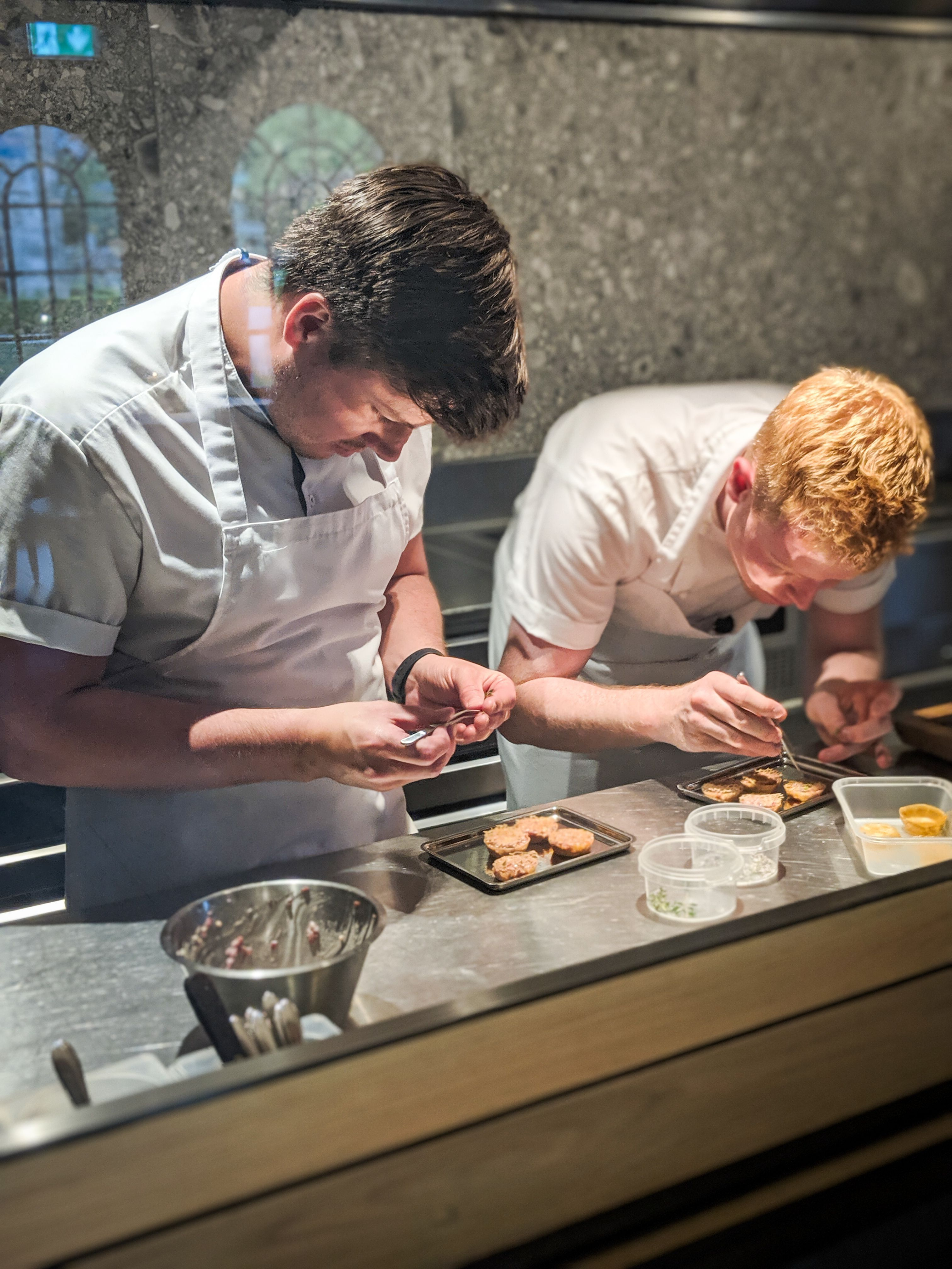 Jordan Bailey of Aimsir, pictured with Moriarty, was one of the chefs featured in last year's two-part special.
