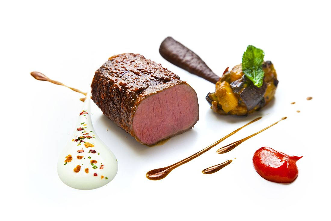 A Michelin-starred dish from Restaurant Patrick Guilbaud